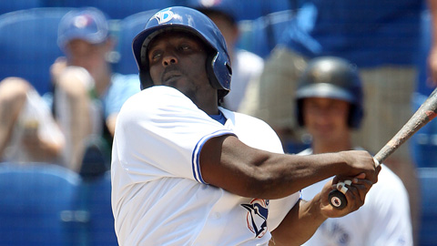 Vladimir Guerrero is 9-for-20 with eight RBIs in four games with Dunedin.