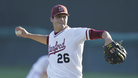 Stanford righty Mark Appel was selected eighth overall by the Pirates.