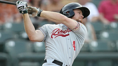 Sacramento's Brandon Moss leads as the PCL's designated hitter.