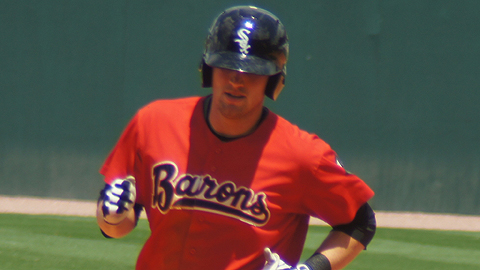 Andy Wilkins was a Carolina League All-Star last season.