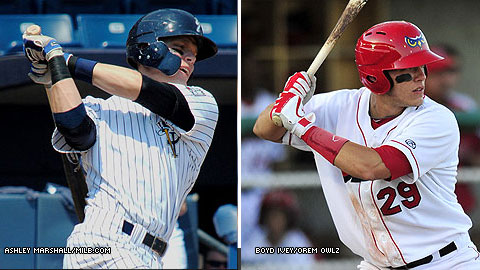 Twins Matt and Michael Snyder were drafted by the Yankees and Angels, respectively, this June.
