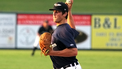 Drew VerHagen was 0-3 in eight regular-season appearances for the Flying Tigers.