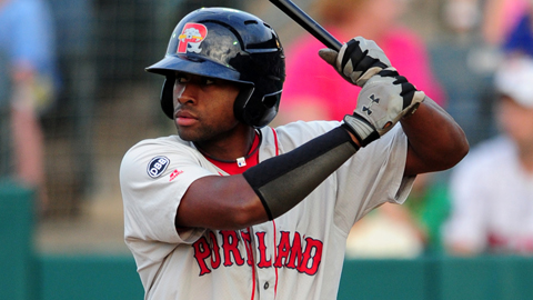 Jackie Bradley ranked fifth in the Minors with a .430 on-base percentage.